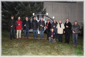 12.12.2013 Schwibbogen Einweihung Crimmitschauer Straße Schmölln