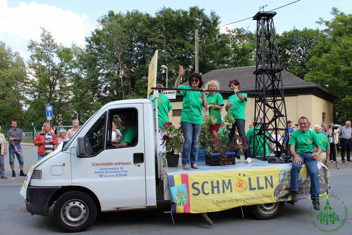 01.06.2014 600 Jahre Stadtrecht Crimmitschau 1