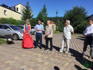 05.08.2017 Knopfweg Schmölln Einweihung 3