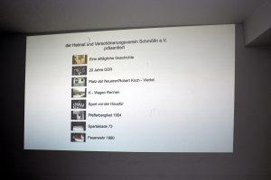 09.. April 2019 - Heimatverein - Filmvorführung in Schmölln